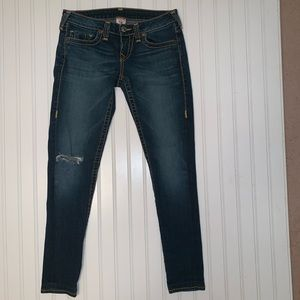True Religion stretch skinny jeans size 29